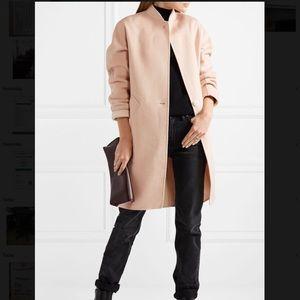 RAG & BONE Reversible Cashmere Wool Coat Rose
